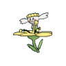Flabébé amarilla XY