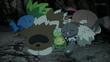 EP924 Pokémon del bosque dormidos