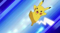 EP634 Pikachu usando Cola férrea