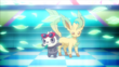 EP893 Leafeon y Pancham