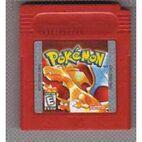 Cartucho Pokémon Rojo