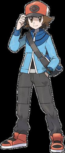 """Ilustración de Lucho en <a href=""""/es/wiki/Pok%C3%A9mon_Negro_y_Blanco"""" title=""""Pokémon Negro y Blanco"""" class=""""mw-redirect"""">Pokémon Negro y Blanco</a>"""