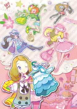 Personalización del personaje XY (ilustración)