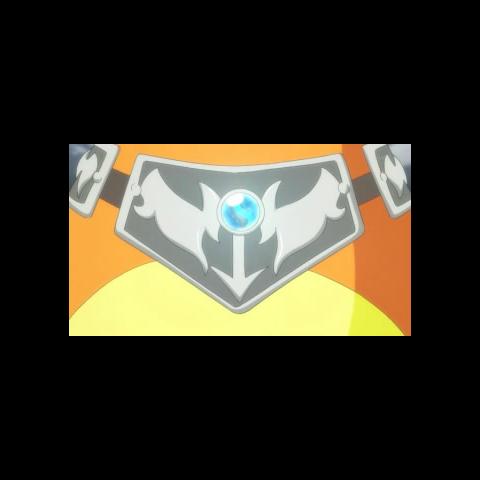 La Charizardita X en el collar del <a href=