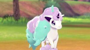 ¡Id al encuentro del Ponyta de Galar en Pokémon Escudo!