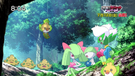 P16 Pokémon en los árboles de las Colinas Pokémon