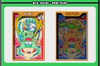 Pokémon Pinball Rubí y Zafiro (mesas)