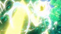 EP947 Pikachu usando rayo