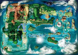 Mapa de Hoenn ROZA