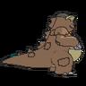 Kangaskhan espalda G6