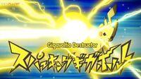 EP1080 Pikachu usando Gigavoltio destructor