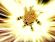 EP431 Pikachu y Elekid usando rayo
