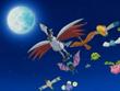 EP360 Skarmory de Alana junto varios pokemon tipo volador