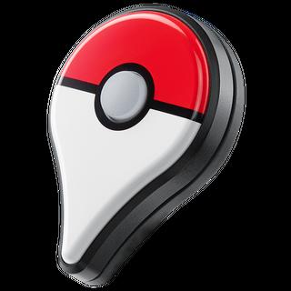 Pokémon GO Plus como medalla.