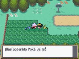 Recibiendo Poké Balls de Lira HGSS