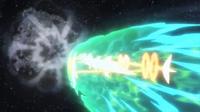 GEN09 Mega-Rayquaza usando ascenso draco