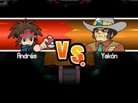 Introducción del combate contra Yakón N2B2