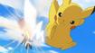 EP824 Fletchling VS Pikachu