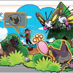Bruno buscando un Pokémon con el <a href=