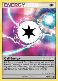 Energía Llamada (Majestic Dawn TCG)