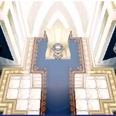 N en la sala del trono.