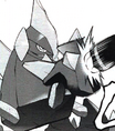 Gigalith de Cheren (manga)