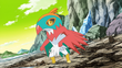 EP841 Hawlucha de Ash alterno