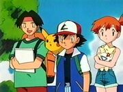 EP091 Ash, Misty y Tracey
