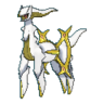 Arceus tipo eléctrico XY