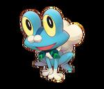 Froakie Pokémon Mundo Megamisterioso