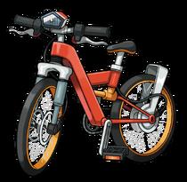 Bici acrobática artwork