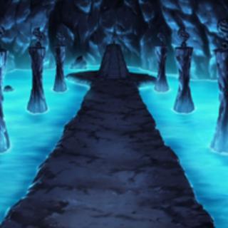 Cueva donde se encontraba la <a href=