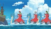 EP948 Poke Ride sobre el agua
