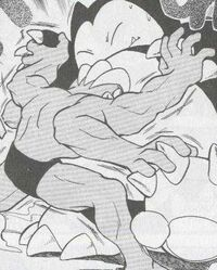 PMS040 Machamp de Green usando Golpe karate