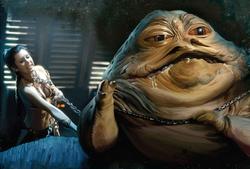 Leia Kills Jabba ALNL