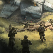 Downed Imperial Transport
