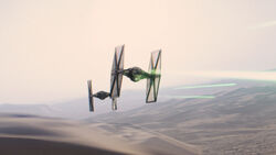First Order TIE fighter-DB