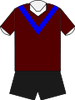 Canterbury home jersey 1943