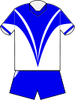 Canterbury Bulldogs home jersey 1997
