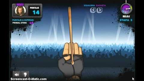 Juegos de DisneyXD ROCKompetencia - Estoy en la Banda