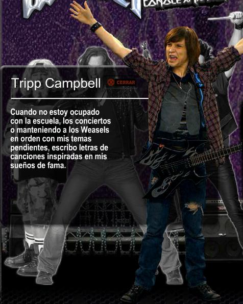 Tripp Campbell (Información)