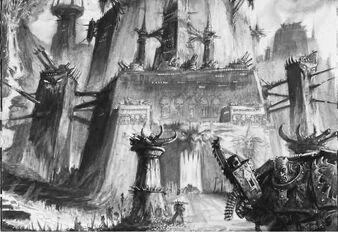 Caos fortaleza mundo demoniaco
