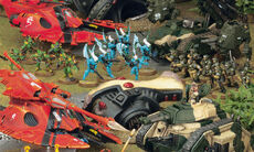 Batalla GI eldar