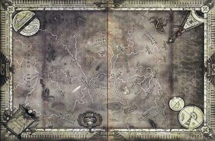 Sector calixis Mapa