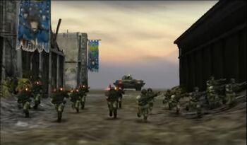 Bahía Victoria Guardia Imperial Kronus Dawn of War Dark Crusade screenshot