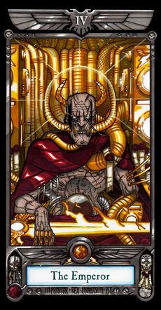 El emperador tarot imperial