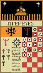 Estandarte Ojos de Tigre Rogue Trader