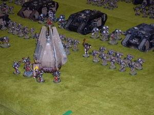 Arcadios del Emperador Games Day España 2009 diorama 2