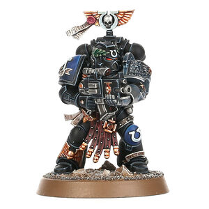 Vael Donatus Veterano Ultramarines Guardianes de la Muerte