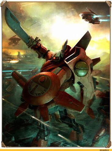 Tau comandante farsight combate armadura